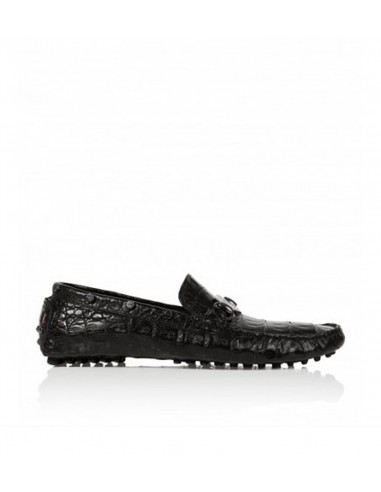 Philipp Plein Moccasins Crocodile Leather at altamoda.shop - SS15SM075727c