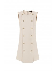 Elisabetta Franchi Sleeveless Mini Dress - ab05976e2_135