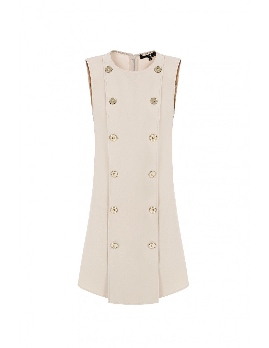 ee658be60977 Elisabetta Franchi Sleeveless Mini Dress - ab05976e2_135