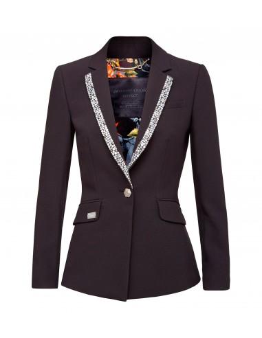 Chaqueta de chaqueta brillante de Philipp Plein en altamoda.shop - F18C WRF0123 PTE061N