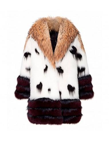 Philipp Plein Fur Coat Golden Time bij altamoda.shop - FW16 CW284548f