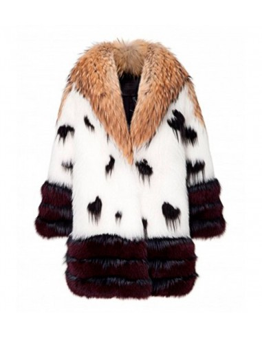 Philipp Plein Fur Coat Golden Time em altamoda.shop - FW16 CW284548f