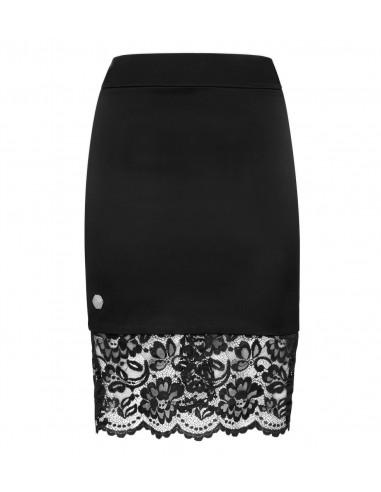 Philipp Plein Short Skirt Flower Lace em altamoda.shop - F18C WRV0125 PTE104N
