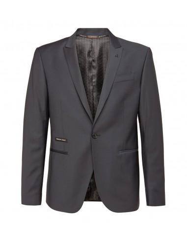 Philipp Plein Blazer Jacke mit schwarzen Kristallen bei altamoda.shop - F18C MRF0544 PTE003N