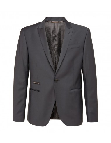 Veste blazer Philipp Plein avec cristaux noirs chez altamoda.shop - F18C MRF0544 PTE003N