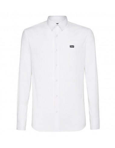 "Philipp Plein Plain Shirt ""Fucking Fresh"" em altamoda.shop"