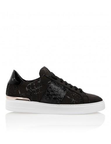 Philipp Plein Black Python Sneaker em altamoda.shop - F18S MSC1425 PLE029P