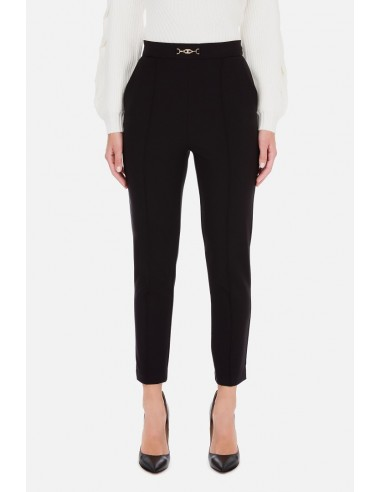 Skinny trousers with accessory