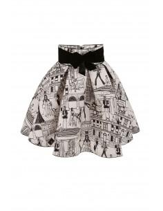 Elisabetta Franchi Miniskirt with Print