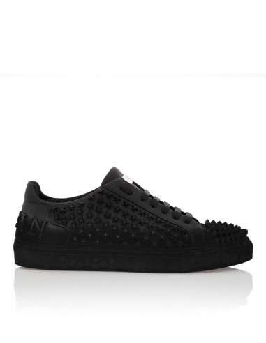 Nabuk Sneakers Star Rivets Overal