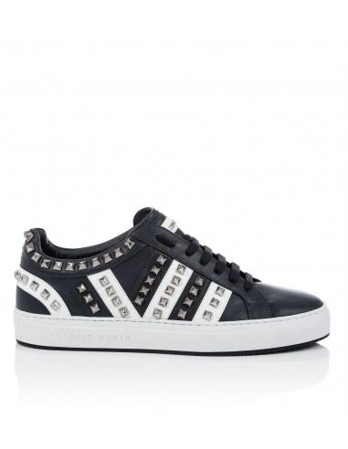 Philipp Plein Sneakers with Metal Rivets at altamoda.shop - P18S MSC1249 PLE075N