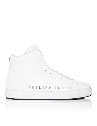 Baskets montantes Philipp Plein All The Stars chez altamoda.shop - P18S MSC1246 PLE008N