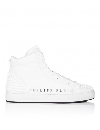 Philipp Plein Hi-top Sneakers All The Stars em altamoda.shop - P18S MSC1246 PLE008N