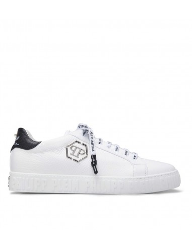 Philipp Plein Lo-Top Sneakers Simple with Skull at altamoda.shop - S19S MSC2008 PLE006N