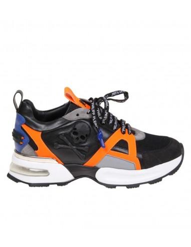 Philipp Plein Sneakers Runner met Schedel bij altamoda.shop - S19S MSC1889 PLE075N
