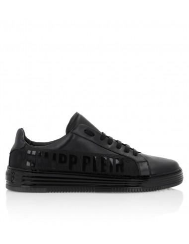"Philipp Plein Lo-Top Sneakers ""Philipp Plein TM"" em altamoda.shop - P19S MSC1916 PLE075N"