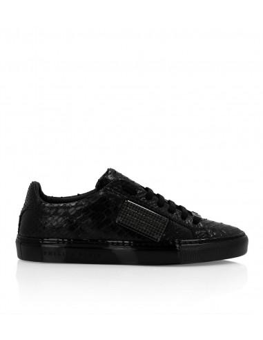 Philipp Plein Luxury Sneakers z Pythonem na altamoda.shop - F19S MSC2297 PLE029P
