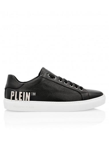 """Baskets Philipp Plein avec lettres métalliques """"Plein"""" sur altamoda.shop - F19S MSC2310 PLE006N"""