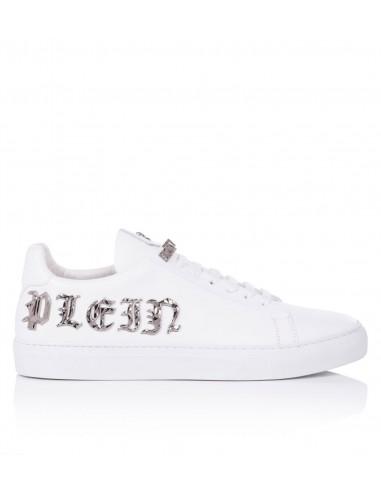 Philipp Plein Sneakers With Gothic Philipp Plein Letters at altamoda.shop - P17S MSC0155 PLE005N