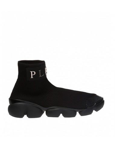 Ténis Plein High Futuristic Sneakers de Philipp Plein em altamoda.shop - A18S MSC1669 PTE074N
