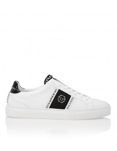 Philipp Plein Low Sneaker Rocker-Style em altamoda.shop - P19S MSC2155 PLE075N