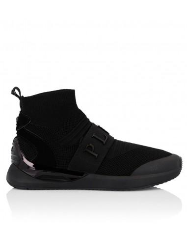 El proyecto de zapatillas de deporte XYZ de Philipp Plein High Top en altamoda.shop - A18S WSC0997 PXV070N