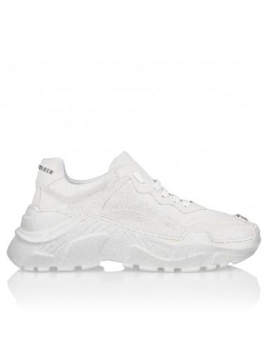 Chaussures de course à paillettes Philipp Plein chez altamoda.shop - F19S WSC1439 PXV004N
