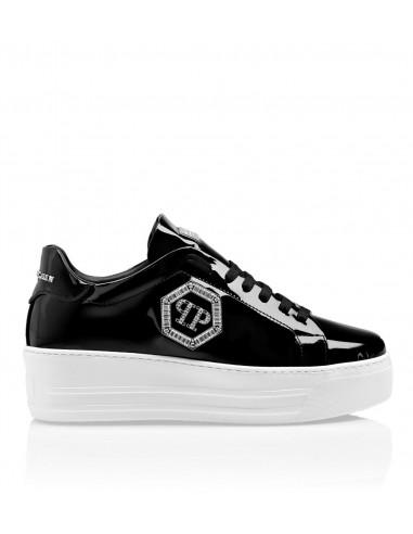 Philipp Plein Platform Sneakers na altamoda.shop - A19S WSC1617 PLE077N