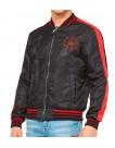 Philipp Plein Nylon Jacket with Skull on the back at altamoda.shop - F18C MRB0691 PXV002N