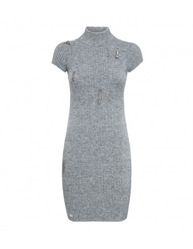 Philipp Plein Kurzes Kleid mit Piercings bei altamoda.shop - A18C WKG0188 PKN002N