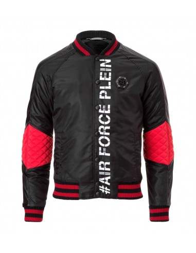 "Chaqueta de Philipp Plein ""Air Force Plein"" en altamoda.shop - FW16 HM241332"