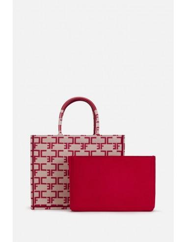 Elisabetta Franchi Medium Monogram bag com organizador - altamoda.shop - BSC4990EC
