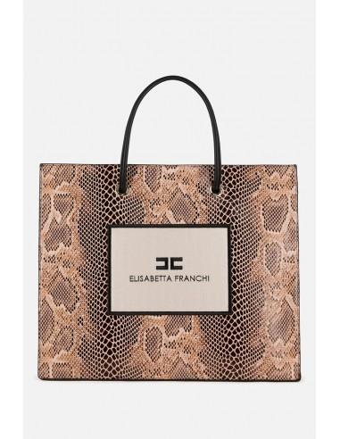 Elisabetta Franchi Exotic 01 Maxi saco - altamoda.shop