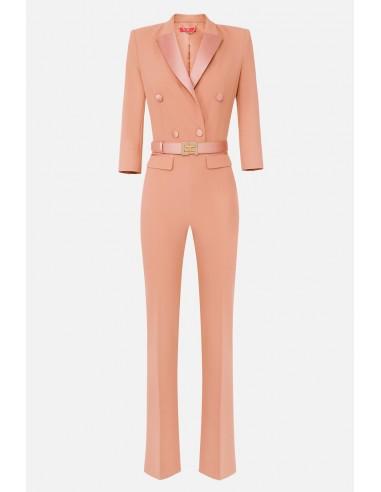 Elisabetta Franchi Tuxedo jumpsuit - altamoda.shop - TU24807E2