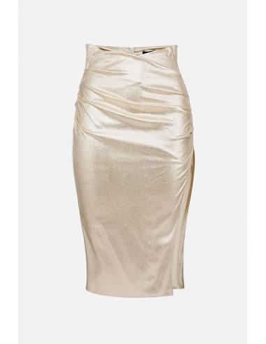 Elisabetta Franchi Skirt with slit - altamoda.shop - GO38302E2