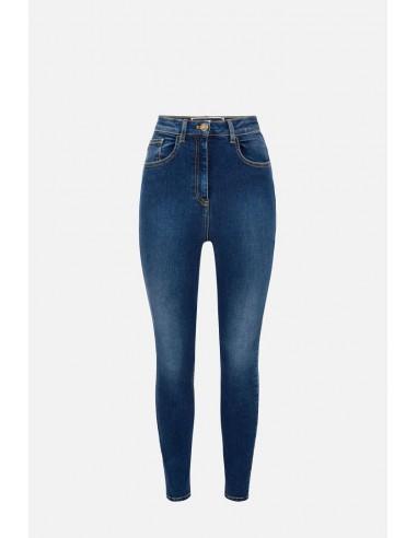Jeans Elisabetta Franchi à coupe régulière - altamoda.shop - PJ79S06E2
