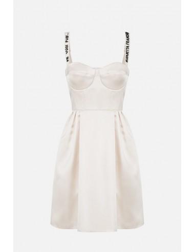 Elisabetta Franchi Mini dress with bodice - altamoda.shop - AB02606E2
