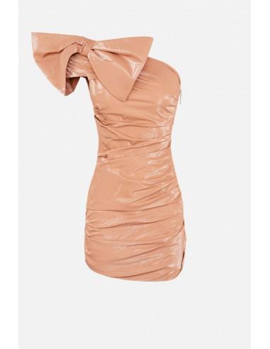 Robe Elisabetta Franchi avec nœud - altamoda.shop - AB07608E2