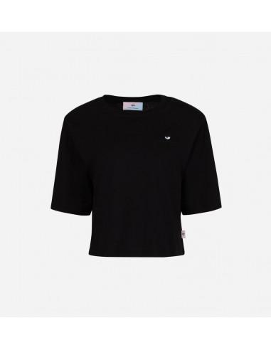 Padded T-Shirt by Chiara Ferragni | Altamoda | 71CBHT07_TEE_BLACK