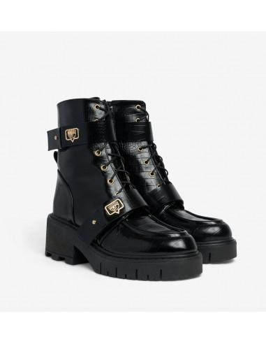 Eyelike Ankle Boots by Chiara Ferragni   Altamoda   CF2864_001_36