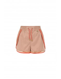 Elisabetta Franchi Sporty Shorts in Rose/Coral