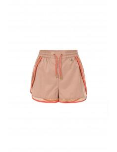 Elisabetta Franchi Sporty Shorts in Rose/Coral