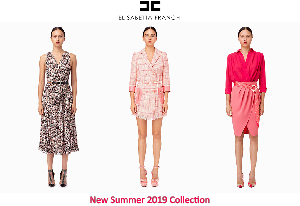 3 Women dressed in Elisabetta Franchi