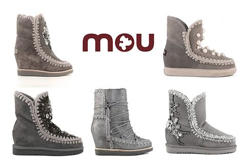5 botas da marca MOU