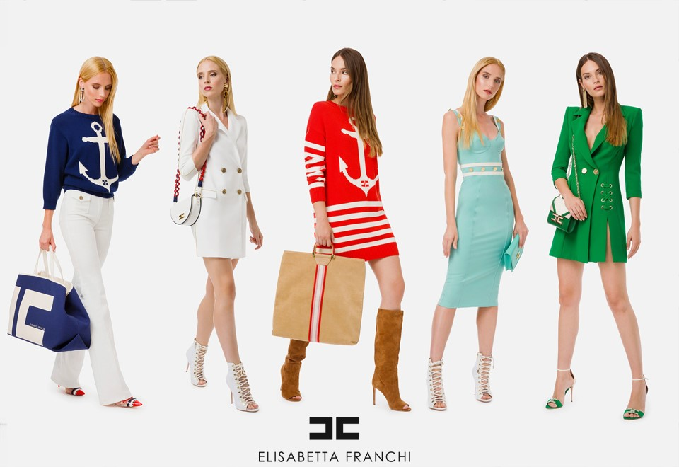 5 Mujeres con ropa de Elisabetta Franchi
