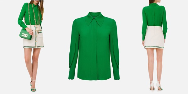 Elisabetta Franchi shirt blouse from Georgette