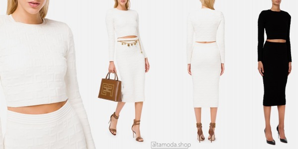 Elisabetta Franchi Two-piece with long sleeves